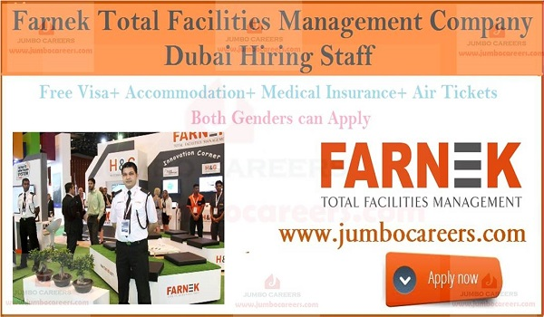 Latest facility management jobs in Dubai, Facility management jobs with accommodation,