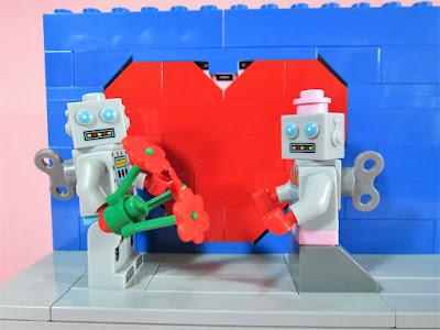MOC LEGO Robot Valentine