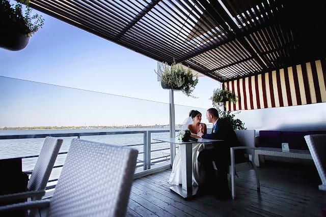 Ресторан Rio Днепр. Красивое место для фото в Днепре. свадебный фотограф. Роман Сагло