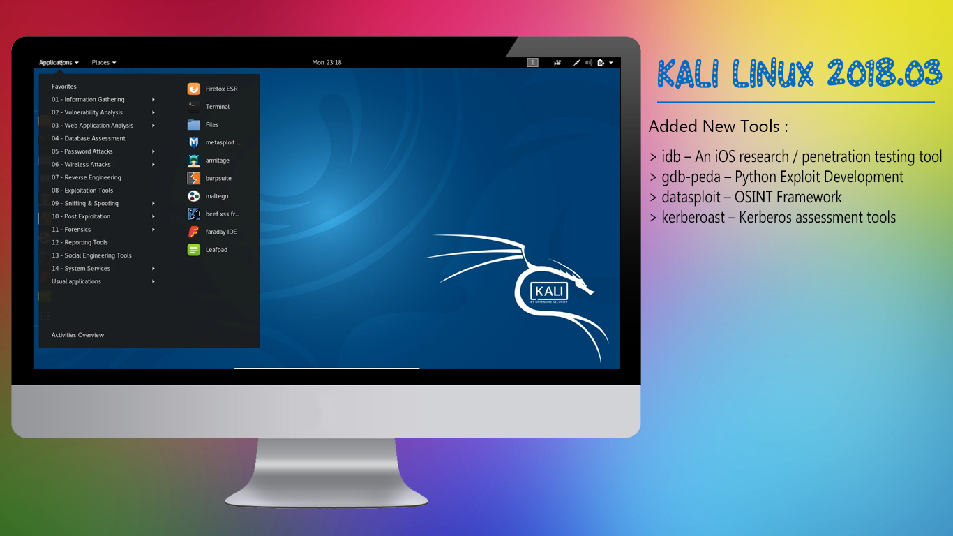Kali Linux 2018 3 Release, Added New Tools For iOS Research