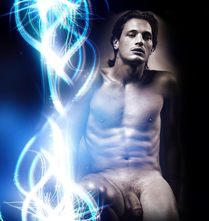 Nude Male Fantasy Artwork
