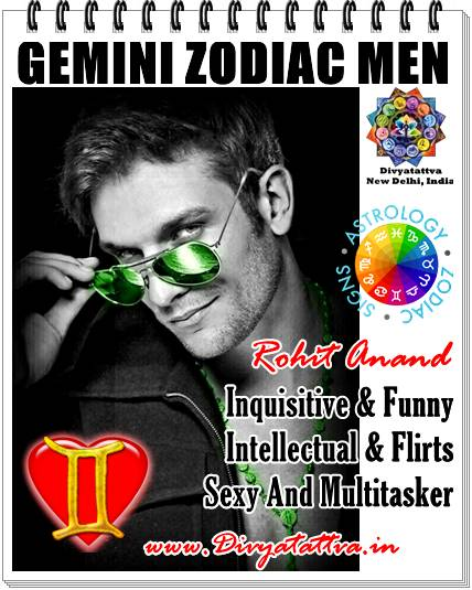My Love Bytes Love Astrology Gemini Zodiac Men & Women Personality Traits Gemini Lovers Horoscope by Top Astrologer Rohit Anand