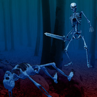 WowEscape Skeleton Forest