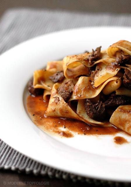 Fleischsauce vom Rind mit Pappardelle