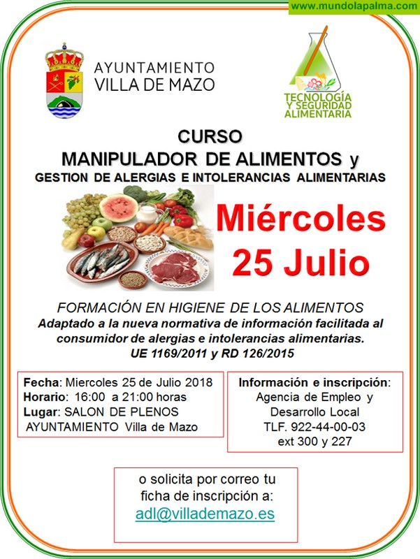 Manipulador de alimentos y gestión de alergias e intolerancias alimentarias