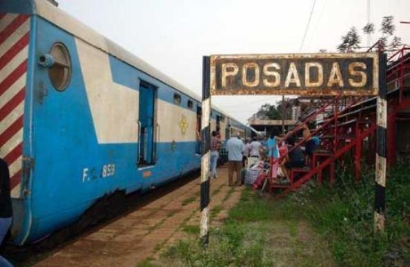 Peña dijo que se trabaja en la rehabilitación integral de la línea Urquiza