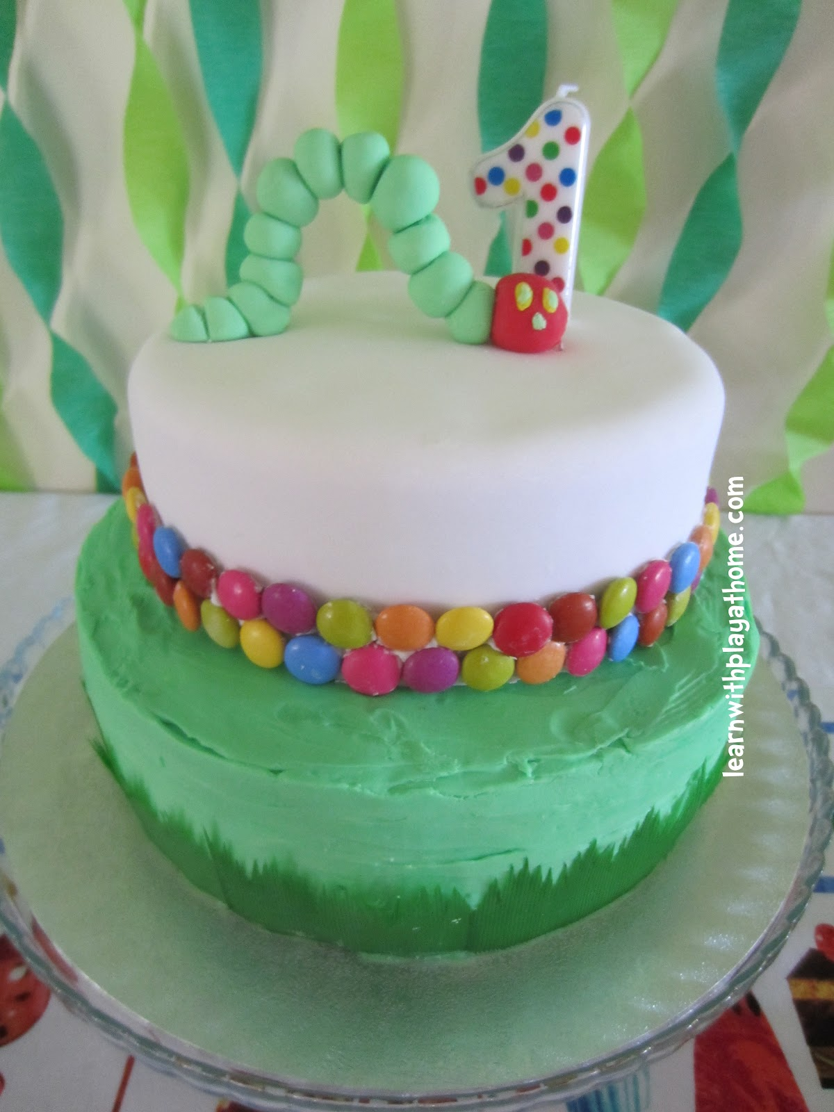 Learn With Play At Home Very Hungry Caterpillar Cake
