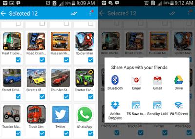 Cara Kirim Aplikasi di HP Android