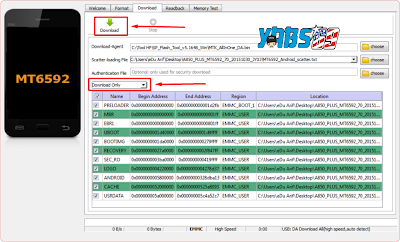 Cara Flashing Semua Android MTK With Flashtool - Yabs69