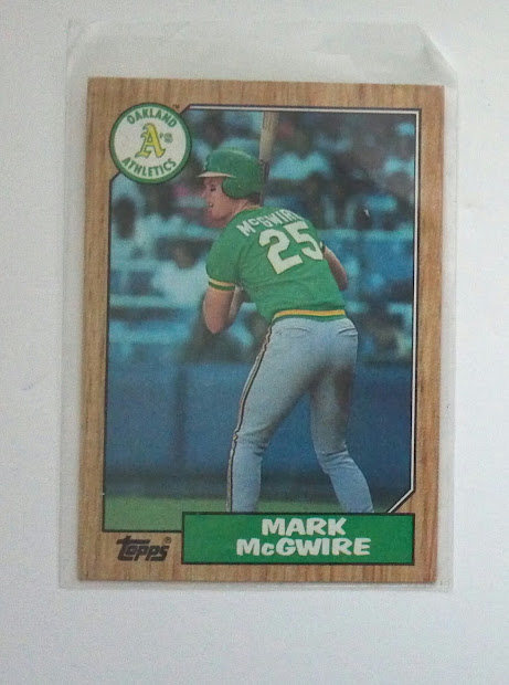 Mark Mcgwire Topps Rookie Card