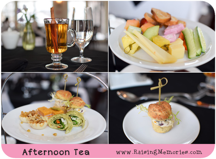 Ste Annes Spa Afternoon Tea selection