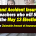 Insurance for Teachers in the May 13 Elections