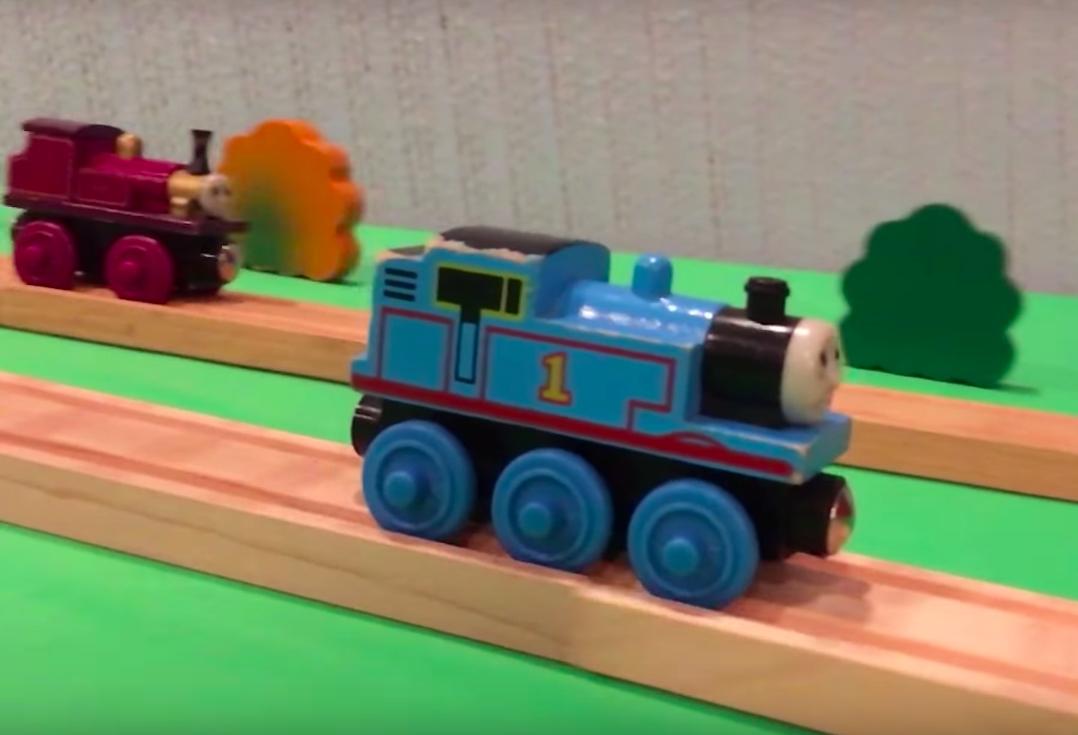 Thomas the Tank Engine als Stuntman | Wenn Kinderspielzeug zum Stunt-Toy wird