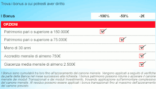 Bonus Conto corrente my genius opinioni Unicredit