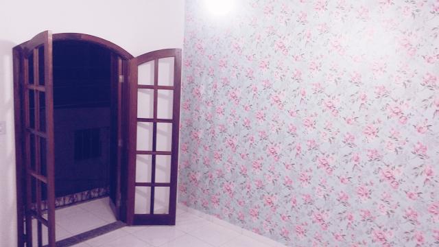 Papel de parede floral - Decoração Fofa de Parede