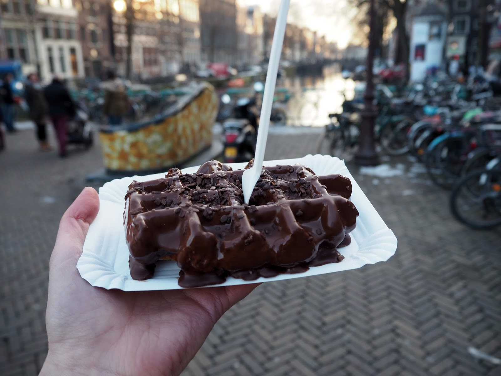 Waffles / Amsterdam City Guide / Lauren Rose / Lifestyle Blogger London