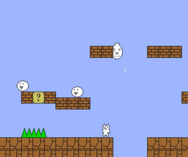 Review Game Pc Cat mario Nostalgia Dengan Tampilan Baru.