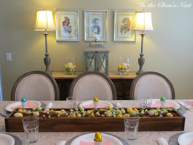 In the chou 39 s nest easter recap for Home goods easter decorations