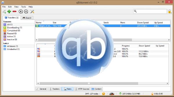 Download qBittorrent free download torrent, goodbye uTorrent