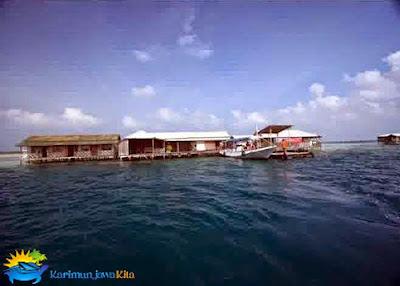 wisma apung pulau karimunjawa