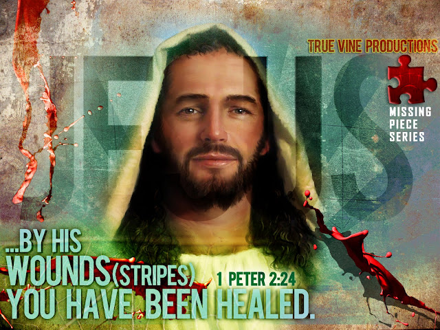 Jesus HD wallpaper about healing 1 Peter 2:24 image