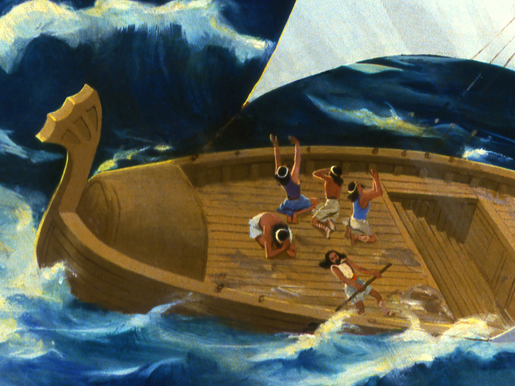 Jonah's Disobedience: A Downward Spiral