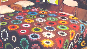 "Cubrecama ""Campo de flores"""
