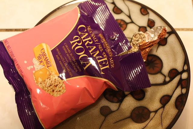 Caramel Roca from Brown & Haley in my October Degusta Box.