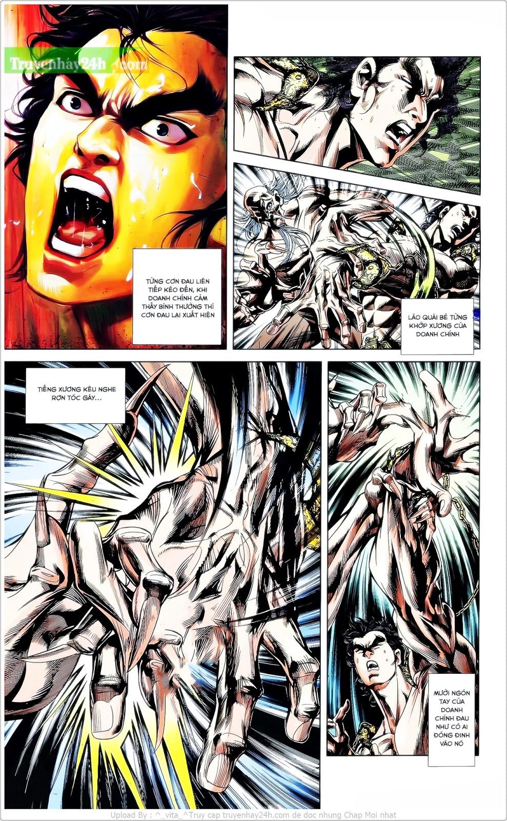 Tần Vương Doanh Chính chapter 25 trang 3