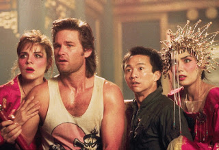 big trouble in little china-kim cattrall-kurt russell-dennis dun-suzee pai