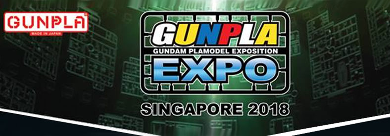 Gunpla Expo Singapore 2018