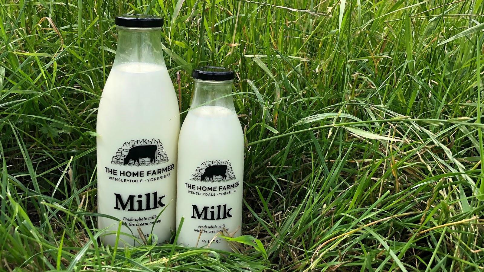 Home Farmer milk