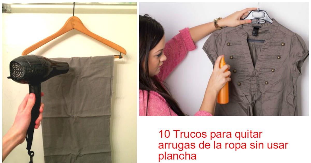 10 trucos para quitar arrugas de la ropa sin usar plancha - Trucos para no planchar ...