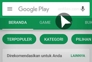 Kolom Pencarian Playstore - Cara Menginstall Aplikasi Software Instagram App For Android
