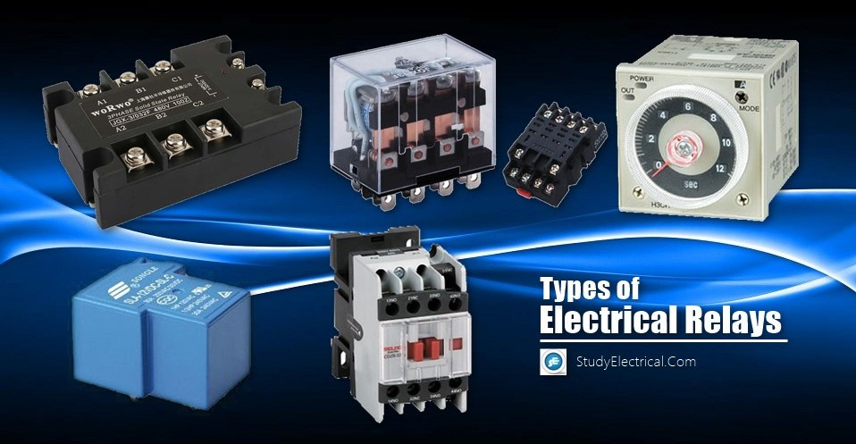 Types of Electrical Relays | StudyElectrical | Online Electrical ...