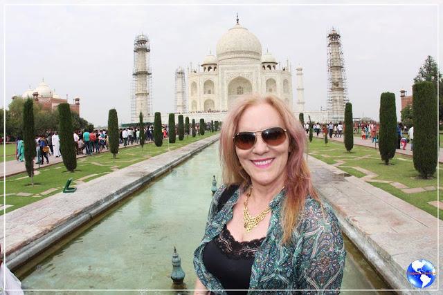 Por que eu voltei para o Taj Mahal?