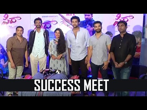 Fidaa Movie Success Meet