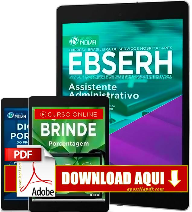 Apostila EBSERH PA 2016 Assistente Administrativo PDF Download