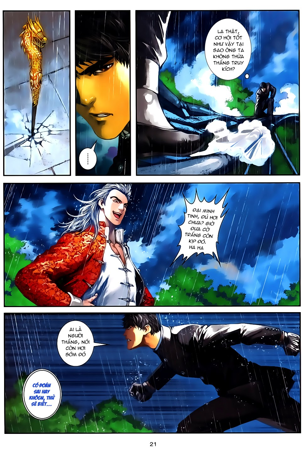 Quyền Đạo chapter 12 - end trang 21