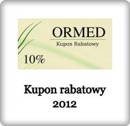 Kupon rabatowy 2012