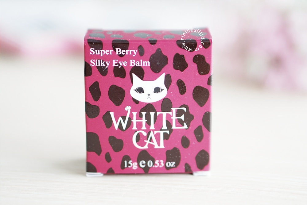 White Cat Super Berry Silky Eye Balm