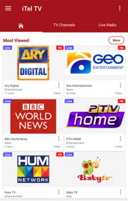 Earn Money With Pakistan's First HD Free Live Tv App for Android