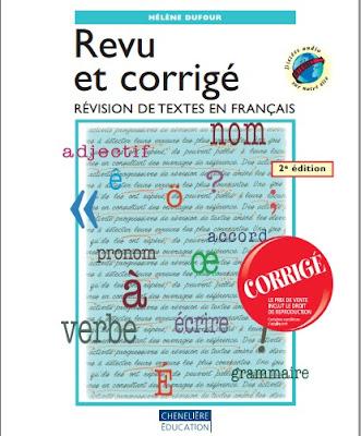 Télécharger Livre Gratuit Révision de textes en français - Revu et corrigé pdf