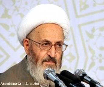 Líder musulmán iraní Ayatolá Sobhani Jafar