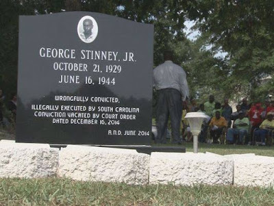 George Stinney Jr., wrongfully executed at age 14 by ‪South Carolina‬