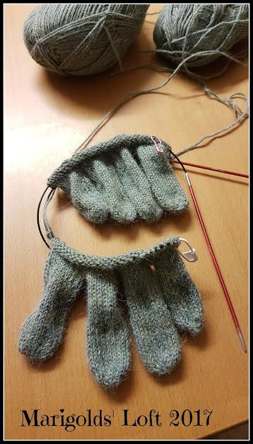 fingered gloves