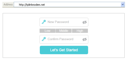 Access the Login Page for your TP-Link WiFi Modem Device | http
