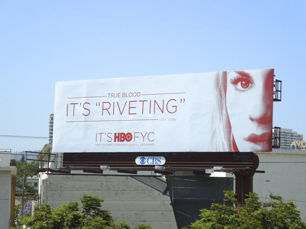 True Blood Riveting HBO Emmy billboard