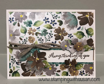 Stampin' Up! Frosted Floral, www.stampingwithsusan.com, 2018 Holiday Catalog