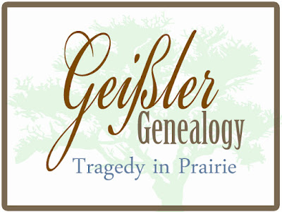 Death of Carl Geissler of Prairie, Franklin County, Ohio
